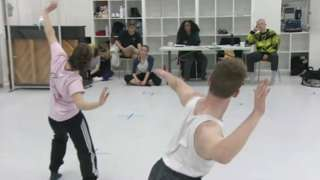 Dancers hoping for a Kickstart place at Dance East in Ipswich