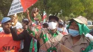 NLC strike 2021: Nigeria Labour Congress [NLC] 'minimum wage protest'