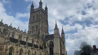 Gloucester Cathedral's BBC toll 99 times for the Duke of Edinburgh