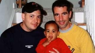 Da esquerda para a direita, Peter, Kevin e Danny