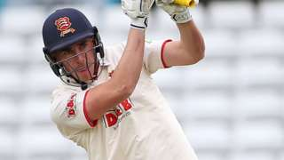 Dan Lawrence bats for Essex