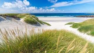 North Uist beach