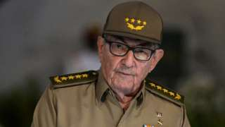 Cuban First Secretary of Communist Party Raul Castro gives a speech on January 1, 2019