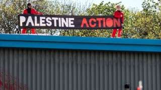 Factory protest in Leicester