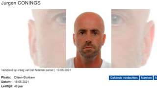 Belgian police alert on Jurgen Conings
