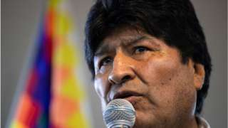 Evo Morales was president of Bolivia from 2006-2019