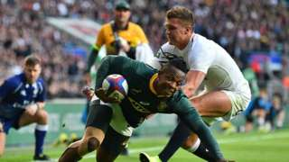 Nkosi scores for South Africa