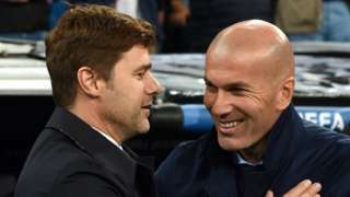 Mauricio Pochettino and Zinedine Zidane