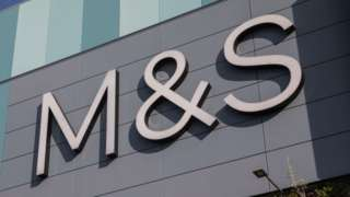 Marks & Spencer retail sign