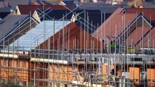 construction on a new housing development