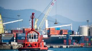 Cenova limanından bir görüntü