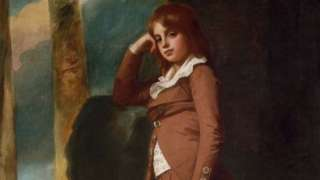 Master Thornhill by the 18th Century artist George Romney