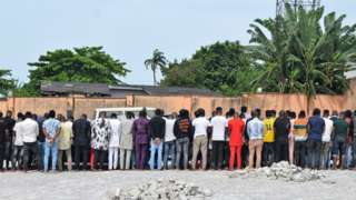EFCC burst 'Yahoo-Boys' Party for Osogbo and 94 Suspect