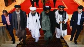 Талибы на международной встрече в Москве в марте этого года