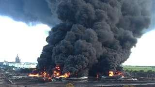kebakaran, kilang minyak, pertamina