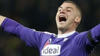 West Brom goalkeeper Sam Johnstone