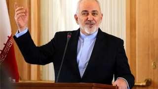 د ایران د بهرنیو چارو وزیر محمد جواد ظریف پر دوی تور پورې کړ چې د طوطي په څېر د امریکا د بې بنسټه ادعاوې تاییدوي.