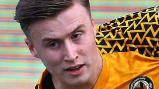 George Nurse was loaned out to Newport County in 2019-20 before joining Walsall for the first half of the 2020-21 season