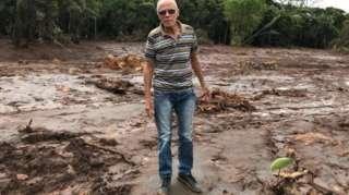 Agricultor de Brumadinho sobre a lama