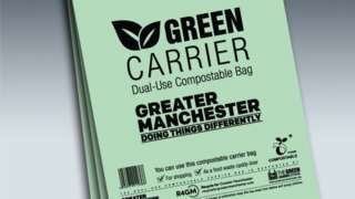 Green Carrier bag