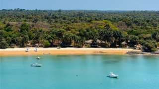 An island in the Bijagos archipelago