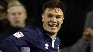 Millwall defender Jake Cooper's equaliser was his third goal of the season