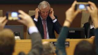 Michel Barnier in Spain