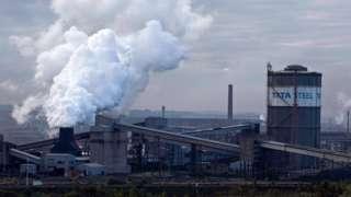 Tata Steel in Scunthorpe