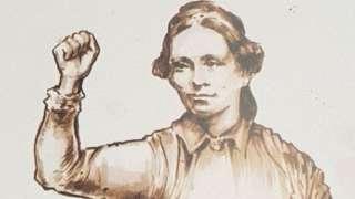 Statue of Sophia Goulden