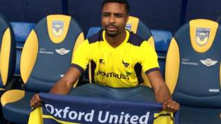Jonathan Obika signs for Oxford United