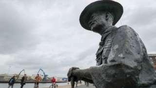Statue of Robert Baden-Powell