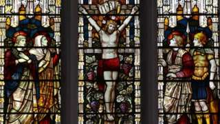Vitral de igreja britânica