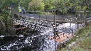 Repairs to Wynch Bridge