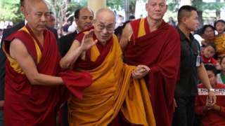 The Dalai Lama said his comments were a joke lost in translation