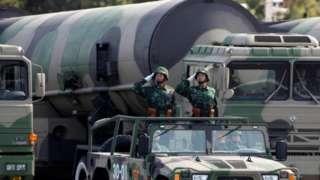 တရုတ်ဟာ နျူကလီးယား မစ်ဇိုင်းတွေ တိုးချဲ့ချထားတယ်လို့ ဆိုနေကြ