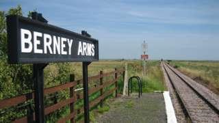 Berney Arms in Norfolk
