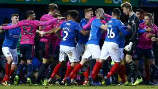 QPR and Portsmouth have been charged by the Football Association