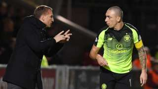 Brendan Rodgers & Scott Brown