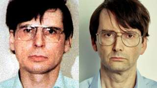 Dennis Nilsen (left) and David Tennant
