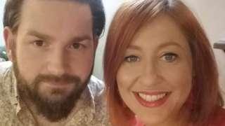 Amanda and husband James