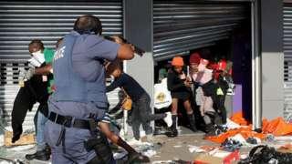 Rabshadaha South Afrika