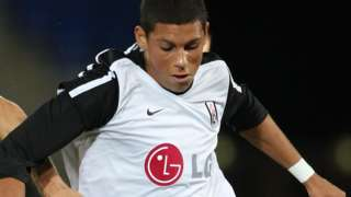 Matthew Briggs in action for Fulham