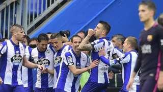Deportivo celebrate