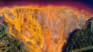 Левихинский рудник в Свердловской области