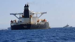 เรือบรรทุกน้ำมันที่ต้องสงสัยว่าน้ำส่งน้ำมันไปซีเรีย