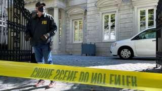 FBI agents raid a Washington DC property linked to Russian oligarch Oleg Deripaska