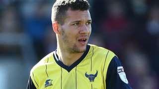 Oxford United's Marvin Johnson