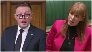 Chris Clarkson and Angela Rayner