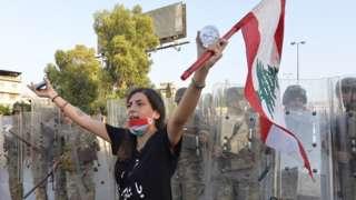 ливанские протесты и армия