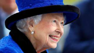 The Queen pictured at Royal Ascot in October 2021